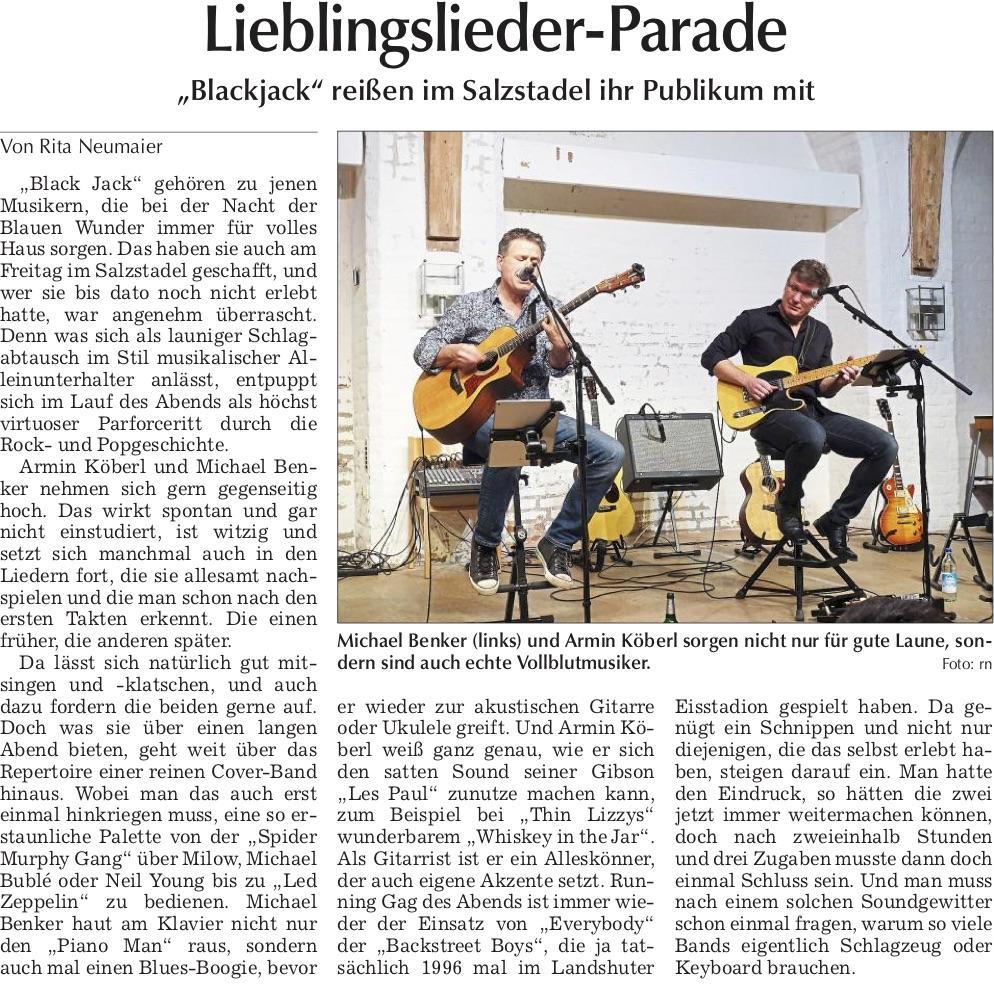 Landshuter Zeitung am 04.02.2019